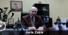 Поздравление Юриса Закиса с Рождественскими праздниками (Video)